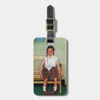 Shiner or Outside the Principal's Office Tag For Bags