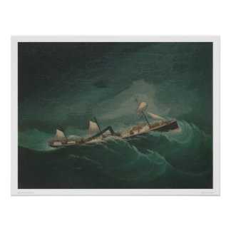 Shipping Vessel...in Storm  (1261) Poster