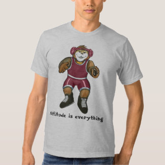 Shirtt for Wrestler - Attitude if Everything Tshirt