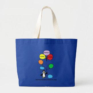 Shondas Animal Crackups Logo Bag (Blue)