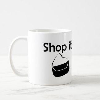 Shop It! Basic White Mug