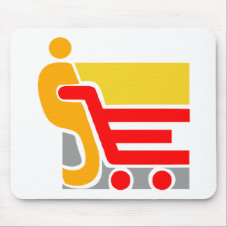 shopping - Abstract Mouse Pad