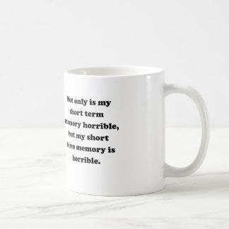 Short Term Memory Basic White Mug