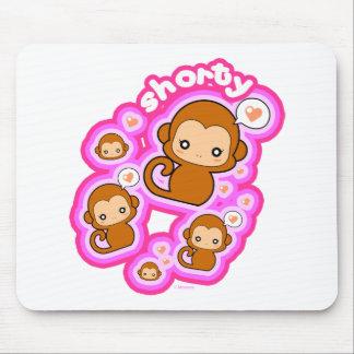 Shorty Monkey Mouse Pad