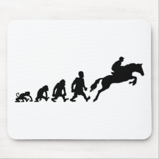 show jumping mouse pad