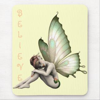 Shy Fairy Mousepad