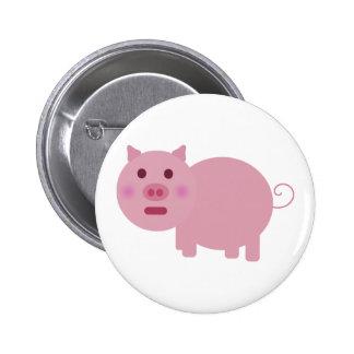 Shy Pig Lapel Button