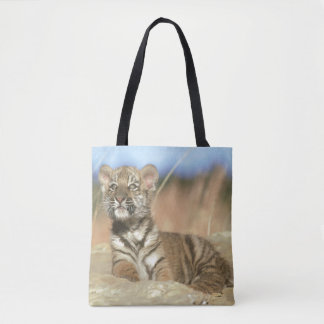 Siberian Tiger (Panthera Tigris Altaica, Siberia) Tote Bag