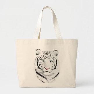 Siberian White Tiger Jumbo Tote Bag