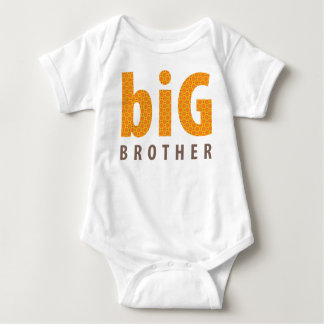 SIBLINGS COLLECTION - big brother {orange} Tee Shirt