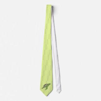 Side Honu sea turtle tie