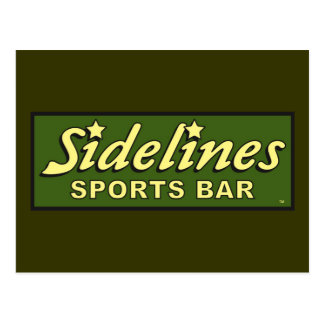 sidelines sports bar extract movie mike judge postcard