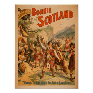 Sidney R. Ellis' Bonnie Scotland Scottish Play 2 Poster