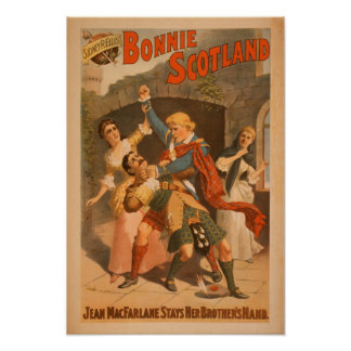 Sidney R. Ellis' Bonnie Scotland Scottish Play 3 Poster