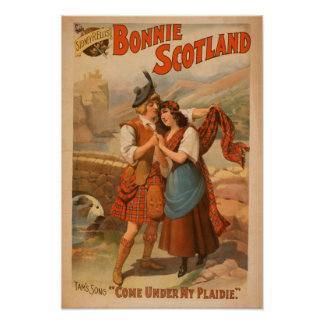 Sidney R. Ellis' Bonnie Scotland Scottish Play Poster