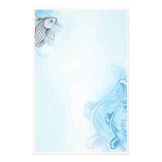 Signs of Koi - Letterhead Stationery