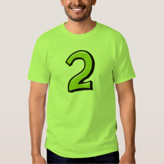 Silly Numbers 2 green Men's T-shirt