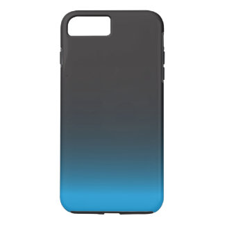 Simple Black and Blue Pattern iPhone 7 Plus Case