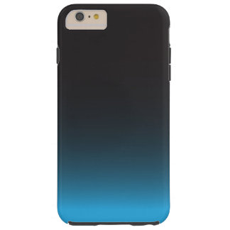 Simple Black and Blue Pattern Tough iPhone 6 Plus Case