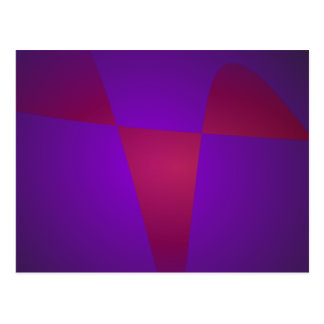 Simple Minimalism Abstract Postcard