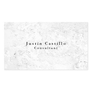 Simple Plain Elegant Grey Wall Texture Modern Pack Of Standard Business Cards
