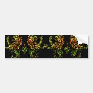 Singa-Laut Dark Bumper Sticker