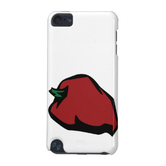 Single Red Habanero Graphic iPod Touch 5G Case