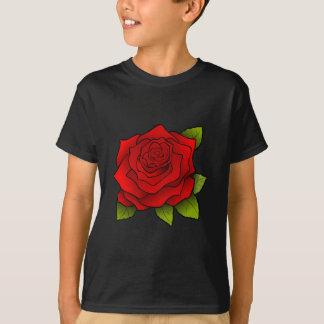Single Red Rose T Shirt