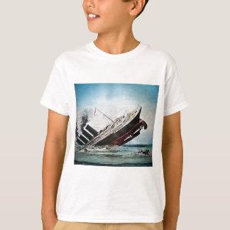Sinking of the Titanic Magic Lantern Slide Shirt