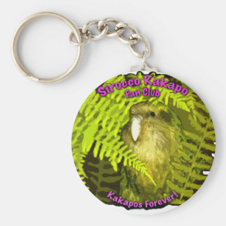 Sirocco in the Ferns Basic Round Button Key Ring