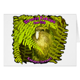 Sirocco in the Ferns Greeting Card