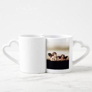 Sistine Madonna Cherubs Thinking Lovers Mug