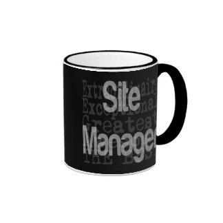 Site Manager Extraordinaire Ringer Mug