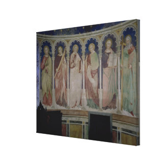Six Apostles, c.1390 (fresco) Stretched Canvas Print