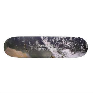 Skate seen Land of the Space Custom Skate Board