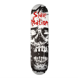 Skateboard 7.75, Zombie Head, Slave Nation