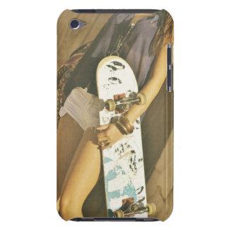 Skateboard girl IPod case