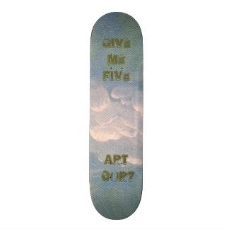 Skateboard Give Me Five Blue Sky
