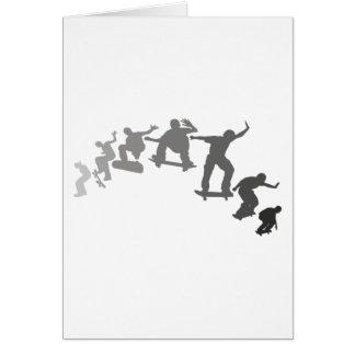 Skateboarding Greeting Card
