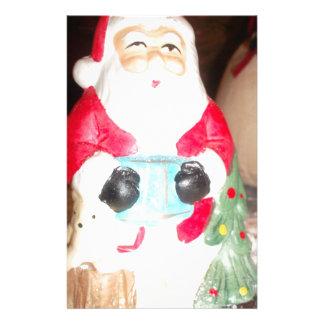 Skeezer cute Santa Claus.JPG Custom Stationery