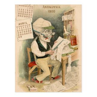 Skeletal Editor Postcard