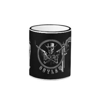 Skeleton Outlaw Mugs