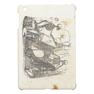 Skeleton Posing for Painting in Art Class iPad Mini Cases