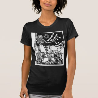 """Skeleton Teacher and Students """"Day of the Dead"""" Tshirt"""