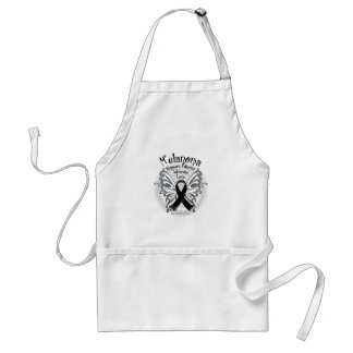 Skin Cancer Butterfly 3 Standard Apron