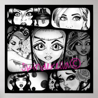 Skinderella Collage Poster