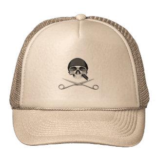 Skull and Scissors Cap
