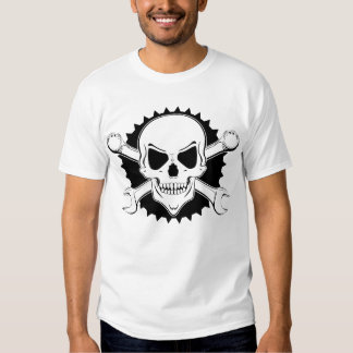 Skull and spanners tshirts