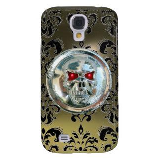 SKULL RIDERS DAMASK GEM agate Galaxy S4 Case