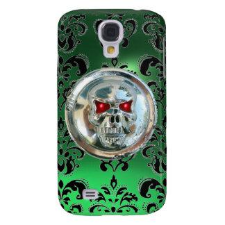 SKULL RIDERS DAMASK GEM jade Galaxy S4 Case